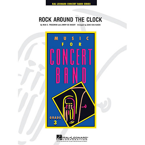 Hal Leonard Rock Around the Clock - Young Concert Band Level 3 arranged by Zane Van Auken-thumbnail