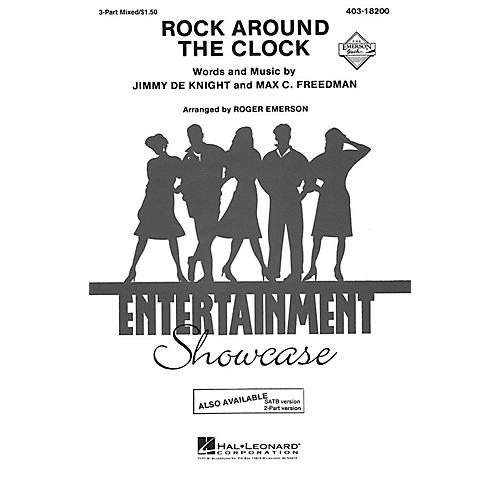 Hal Leonard Rock Around the Clock 3-Part Mixed by Bill Haley and His Comets arranged by Roger Emerson