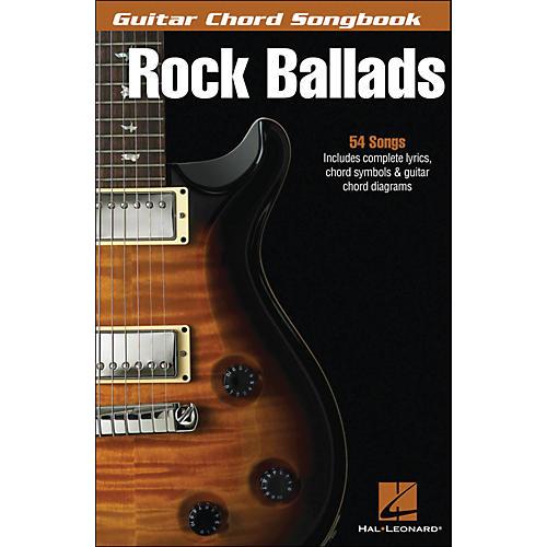 Hal Leonard Rock Ballads - Guitar Chord Songbook