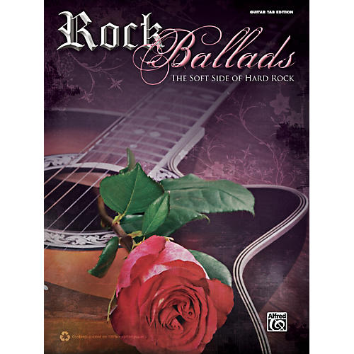 Alfred Rock Ballads Guitar Book