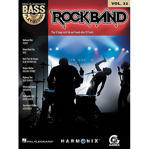 Hal Leonard Rock Band - Classic Rock Edition - Bass Play-Along Volume 22 Book/CD