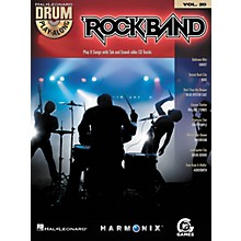 Hal Leonard Rock Band - Classic Rock Edition - Drum Play-Along Volume 20 Book/CD Set
