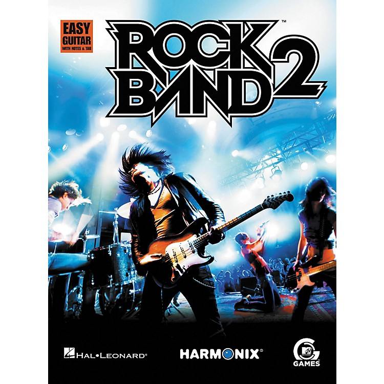 Hal Leonard Rock Band 2: Easy Guitar Songbook with Notes and Tab