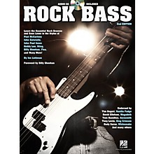 Hal Leonard Rock Bass - 2nd Edition Bass Instruction Series Softcover with CD Written by Jon Liebman