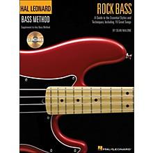 Hal Leonard Rock Bass - Hal Leonard Bass Method Supplement To Any Bass Method Book/CD