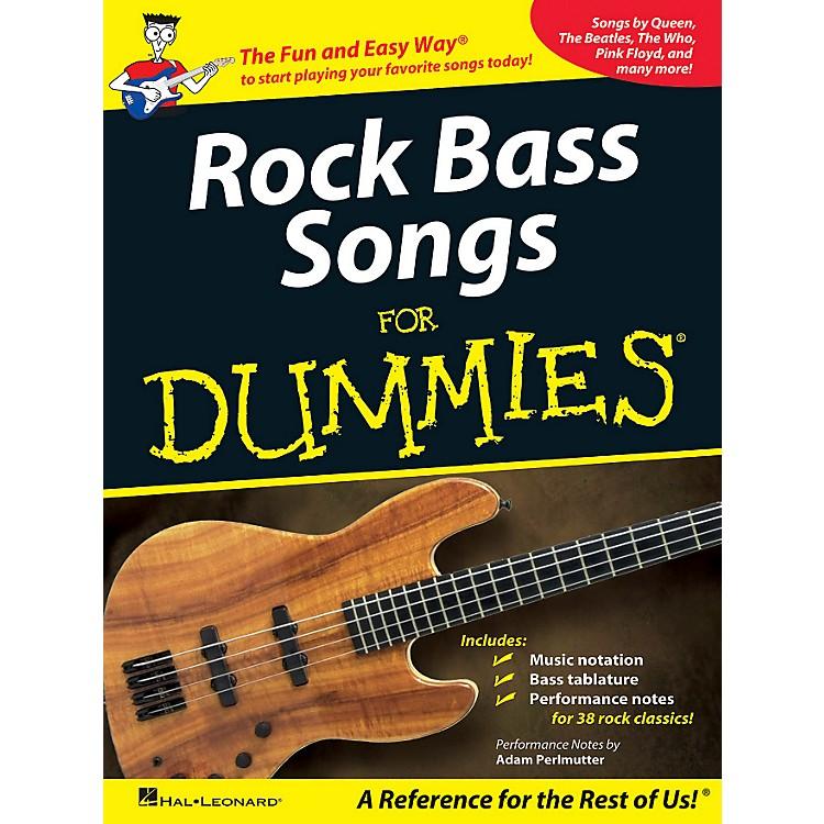 Hal LeonardRock Bass Songs For Dummies