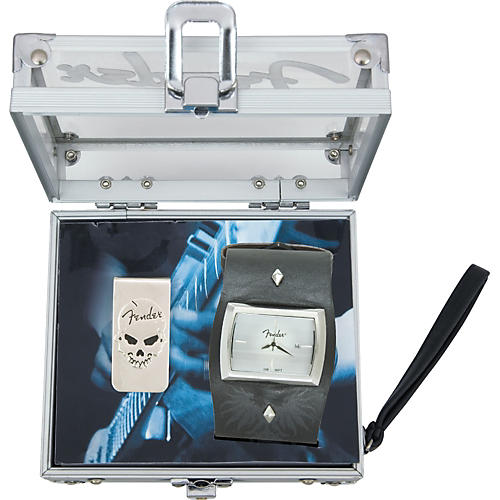 Fender Rock Box Watch and Accessory Gift Set for Men