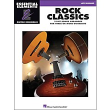 Hal Leonard Rock Classics - Essential Elements Guitar Ensembles Late Beginner