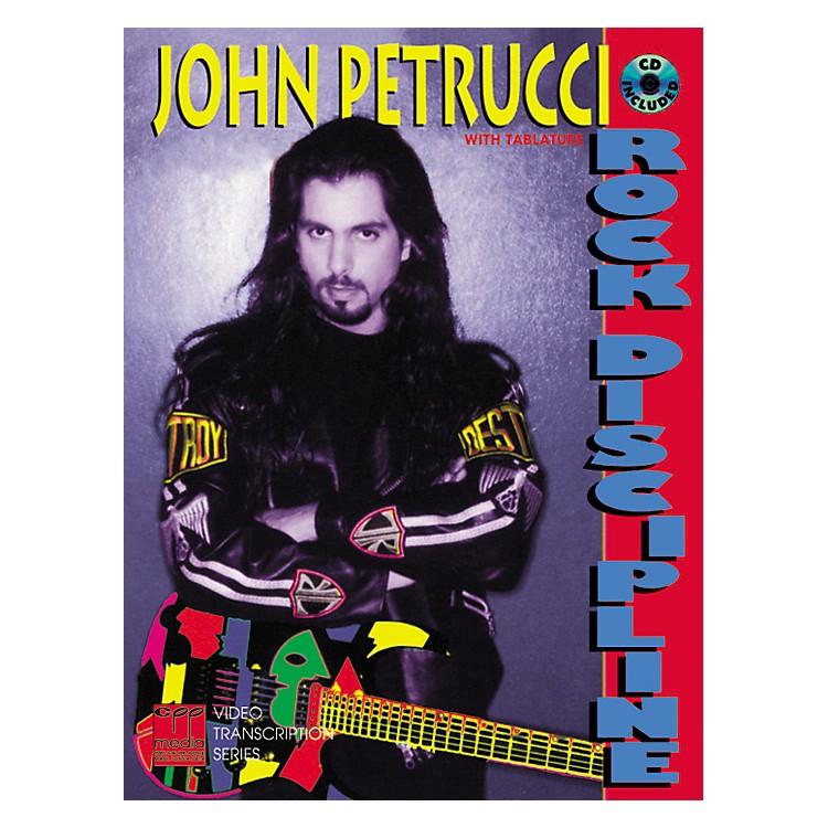 AlfredRock Discipline by John Petrucci Book/CD
