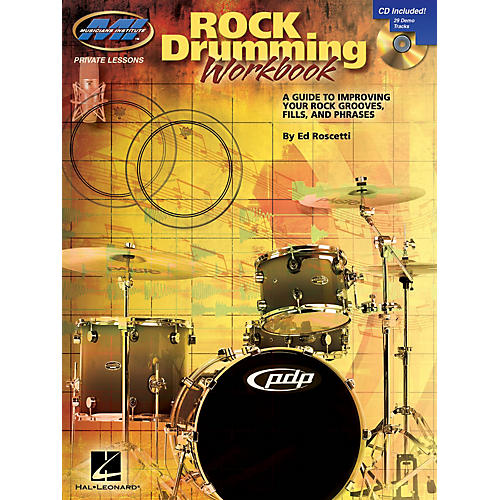 Musicians Institute Rock Drumming Workbook Musicians Institute Press Series Softcover with CD Written by Ed Roscetti-thumbnail