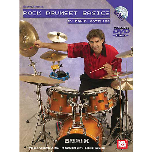 Mel Bay Rock Drumset Basics DVD and Chart