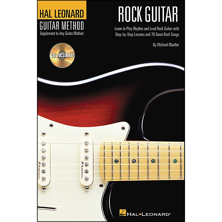 Hal Leonard Rock Guitar 6X9 Book/CD Hal Leonard Guitar Method