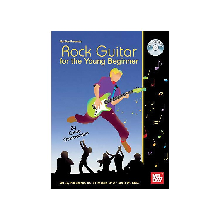 Mel BayRock Guitar For The Young Beginner Book and CD
