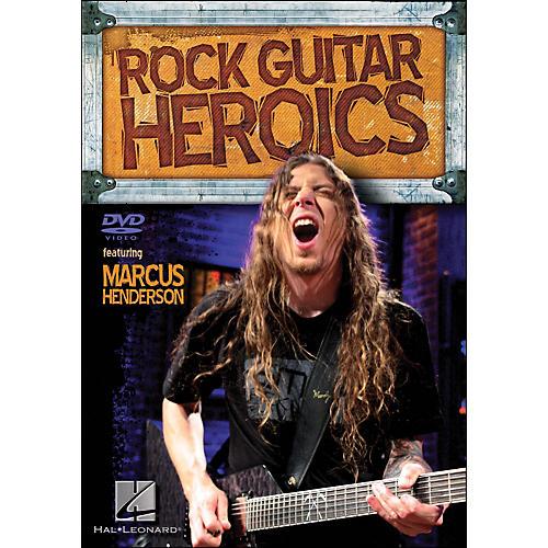 Hal Leonard Rock Guitar Heroics Featuring Marcus Henderson (DVD)