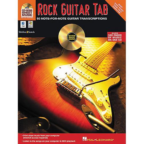 iSong Rock Guitar Tab (CD-ROM)