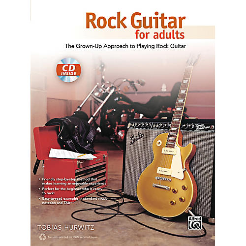 Alfred Rock Guitar for Adults Book & CD-thumbnail