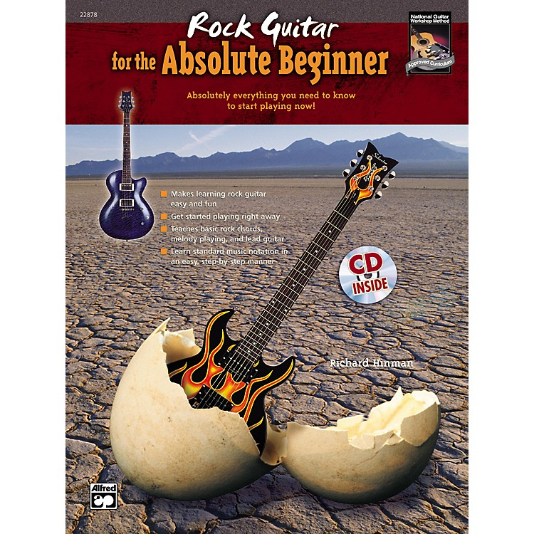Alfred Rock Guitar for the Absolute Beginner Book/CD Set