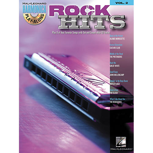Hal Leonard Rock Hits - Harmonica Play-Along Series, Volume 2 (Book/CD)