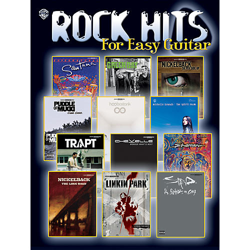 Alfred Rock Hits for Easy Guitar Easy Guitar