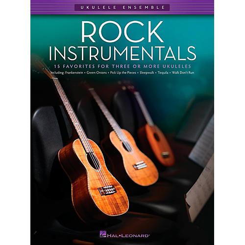 Hal Leonard Rock Instrumentals - Ukulele Ensemble Series Late Intermediate Songbook