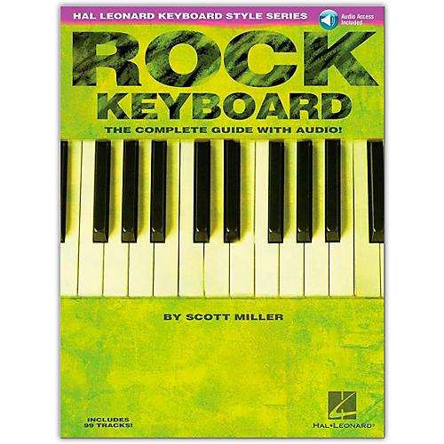 Hal Leonard Rock Keyboard Style Series (Book/Online Audio)-thumbnail