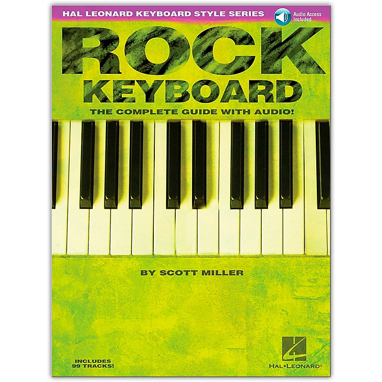 Hal Leonard Rock Keyboard Style Series Book with CD