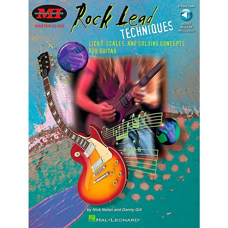 Hal LeonardRock Lead Techniques Book/CD Package