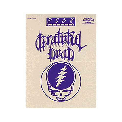 Alfred Rock Legends: Grateful Dead Book