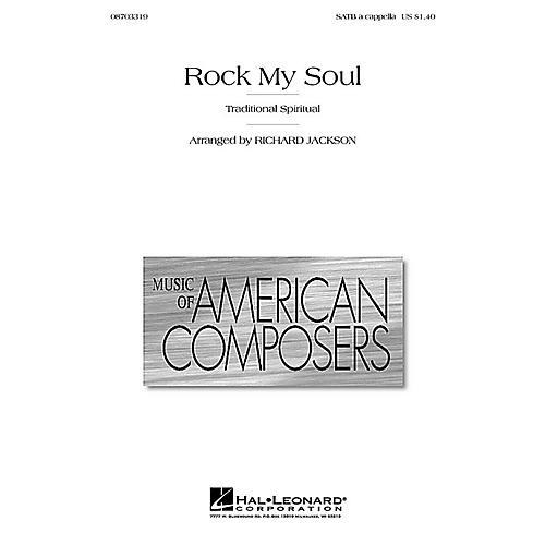 Hal Leonard Rock My Soul SATB a cappella arranged by Richard Jackson-thumbnail