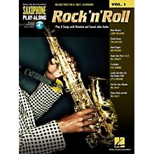 Hal Leonard Rock 'N' Roll - Saxophone Play-Along Vol. 1 Book/CD