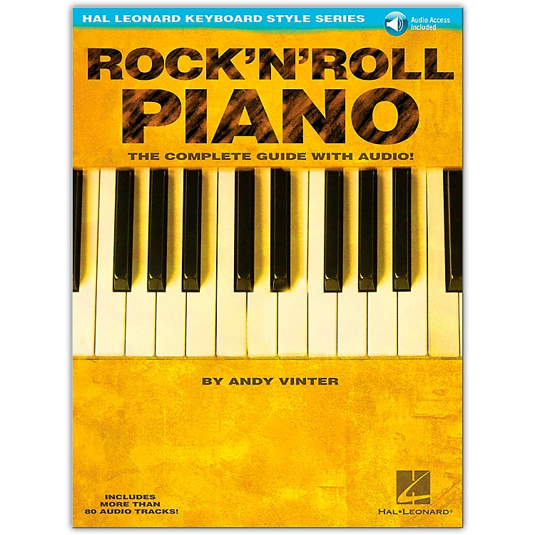 Hal LeonardRock 'N' Roll Piano Book/CD Hal Leonard Keyboard Style Series