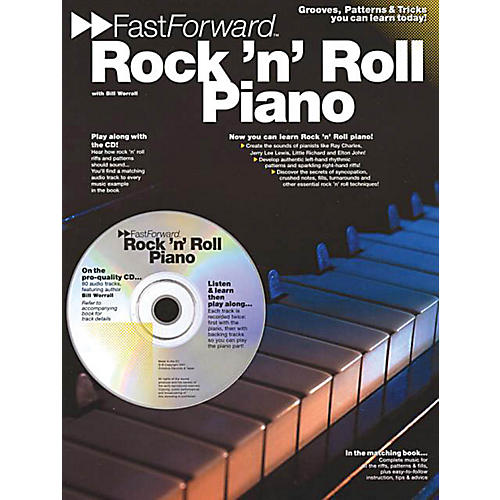 Music Sales Rock 'N' Roll Piano Music Sales America Series Softcover with CD Written by Bill Worrall-thumbnail