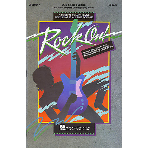 Hal Leonard Rock On! (Feature Medley) ShowTrax CD Arranged by Roger Holmes