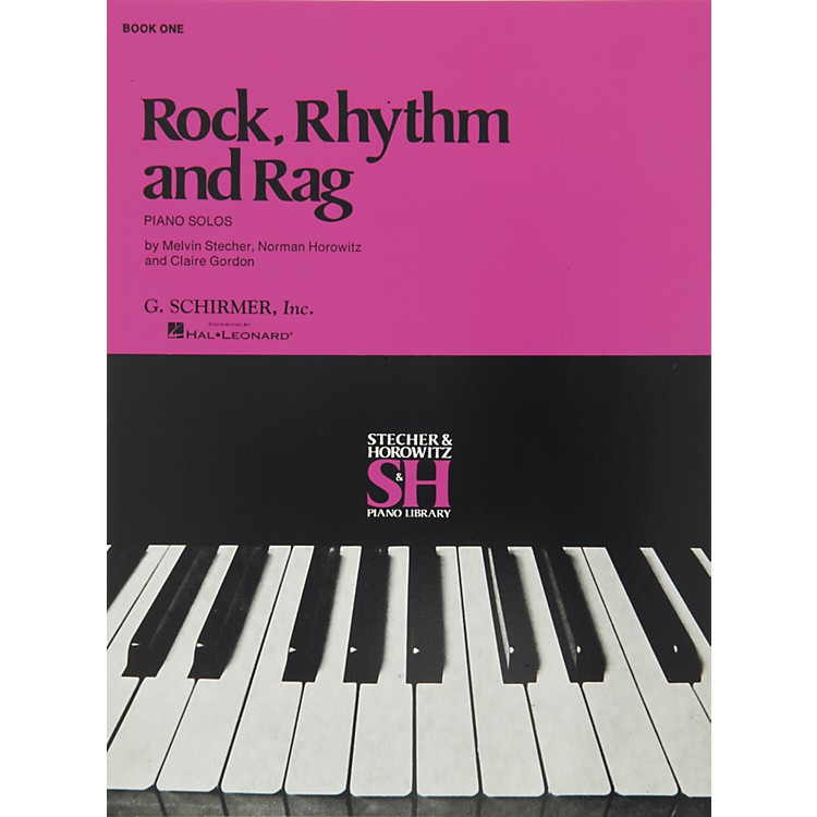 Music SalesRock Rhythm And Rag Book 1 Piano Solos By Stecher