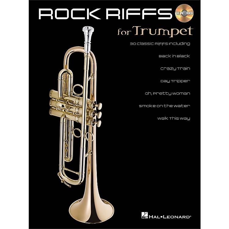 Hal LeonardRock Riffs for Trumpet Book/CD