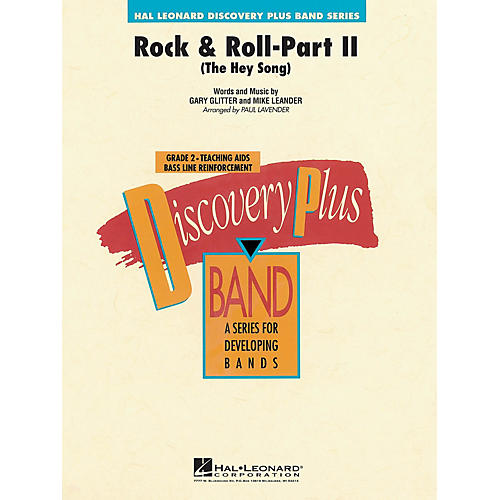 Hal Leonard Rock & Roll - Part II (The Hey Song) - Discovery Plus Concert Band Series Level 2 arranged by Paul Lavender-thumbnail