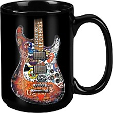 Taboo Rock & Roll Legends Black Mug 15 oz
