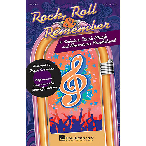 Hal Leonard Rock, Roll & Remember (A Tribute to Dick Clark and American Bandstand) SATB arranged by Roger Emerson-thumbnail