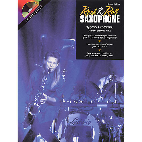 Hal Leonard Rock & Roll Sax (Book/CD Pack) Instrumental Series Softcover with CD-thumbnail