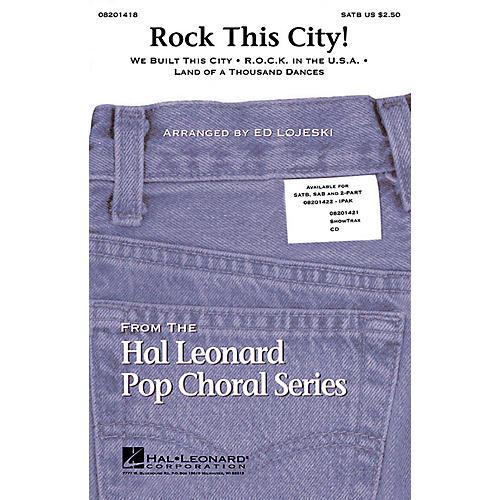 Hal Leonard Rock This City! (Medley) ShowTrax CD Arranged by Ed Lojeski