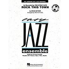 Hal Leonard Rock This Town - Easy Jazz Ensemble Series Level 2