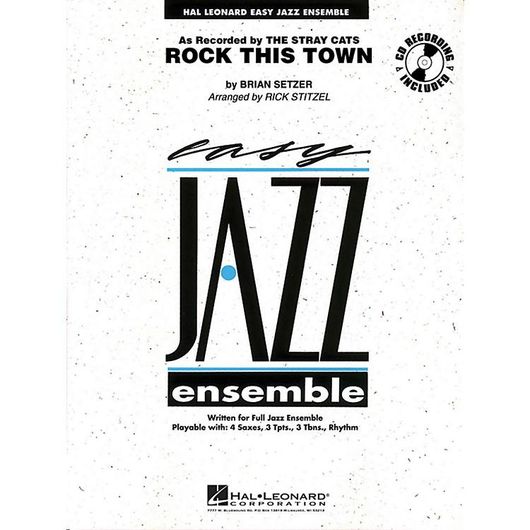 Hal LeonardRock This Town - Easy Jazz Ensemble Series Level 2