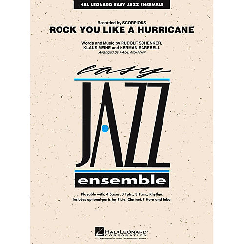 Hal Leonard Rock You Like A Hurricane Jazz Band Level 2-thumbnail