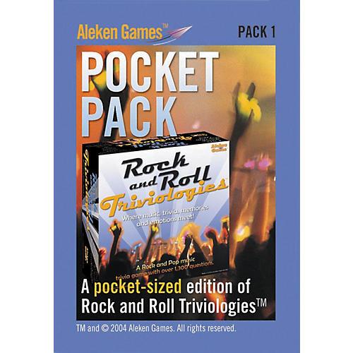 Aleken Games Rock and Roll Triviologies Pocket Pack Game