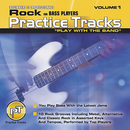 Practice Tracks Rock for Bass Players (CD)