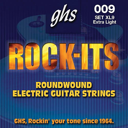 GHS Rock-it Extra Light Electric Guitar Strings-thumbnail