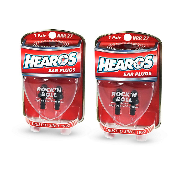 Hearos Rock n' Roll Ear Filters 2-Pack