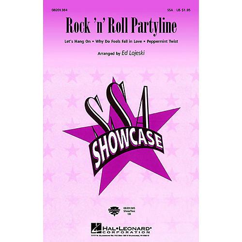 Hal Leonard Rock 'n' Roll Partyline (Medley) (SSA) SSA arranged by Ed Lojeski-thumbnail