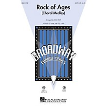 Hal Leonard Rock of Ages (Choral Medley from the Broadway Musical) ShowTrax CD Arranged by Mac Huff