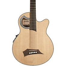 RockBass by Warwick RockBass Alien Deluxe 5-String Acoustic-Electric Bass Guitar Natural Hi Polish